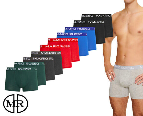 10-Pack Mario Russo Boxers