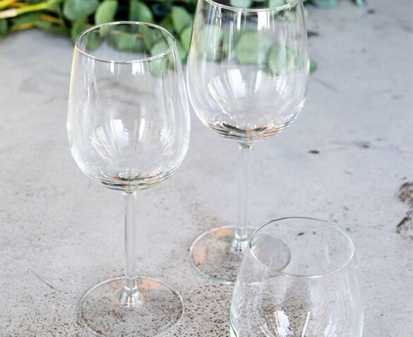 12-Delige Set Royal Leerdam Wijn- en Waterglazen Tryvann