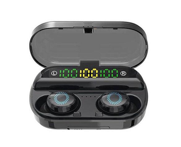 Bluetooth-oortjes met Oplaadcase en Powerbank