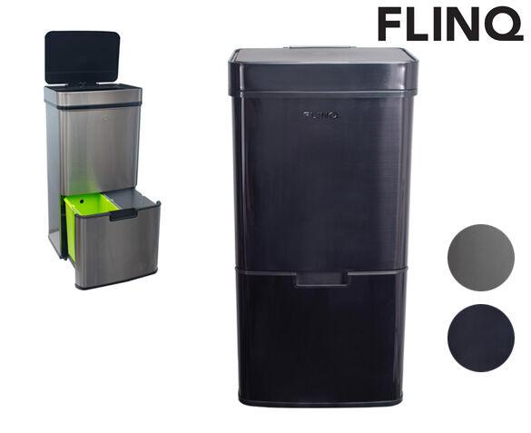 FlinQ Prullenbak RVS met Sensor