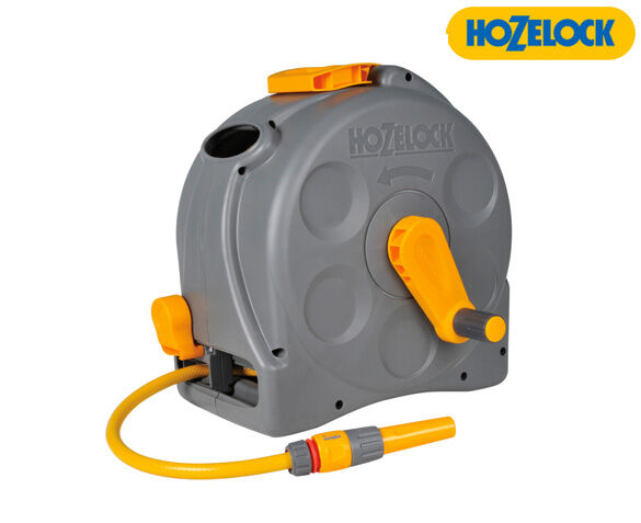 Hozelock Compact Reel Slangbox 2-in-1