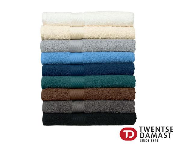 Set van Twee Twentse Damast Handdoeken