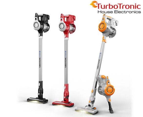 TurboTronic iQ8 Draadloze Stofzuiger